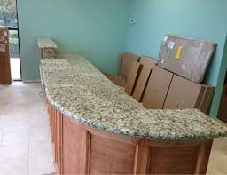 granite countertops commercial work front view