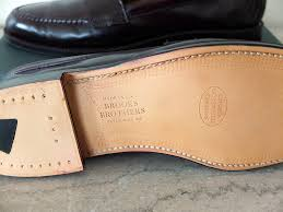 Alden Shoe Size Chart The End Of Brooks Brothers Alden Made Shoes Put This On