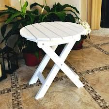 side tables adirondack side table round folding side table adirondack side table unfinished