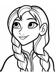 Small Picture Frozen coloring pages for baby and children NiceImagesorg