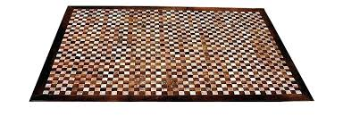 hand woven leather rug cleaning matador white x combined light browns basket weave