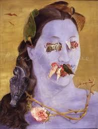 Portrait of Valentine Penrose nee Boue, Surrealist - 3198   LeeMiller