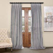 Gray and beige curtains Blackout Curtains Blackout Signature Silver Grey The Home Depot Gray Curtains Drapes Window Treatments The Home Depot
