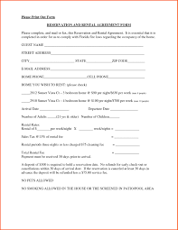 Generic Rental Agreement Free Rental Agreement Template Tryprodermagenixorg 24
