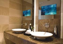 Astonishing Tv For Bathrooms For Bathroom Tv Mirror Wall