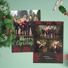 006 Christmas Card Template Photoshop T144 Image