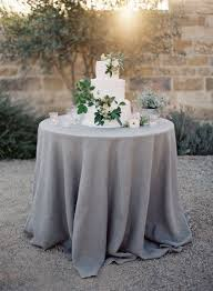 grey round tablecloth wedding table ideas for plan 8