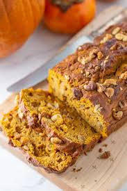 pumpkin persimmon bread stetted