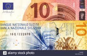 Franco svizzero e di banconote euro europeo. Concetto di commercio e di  cooperazione Foto stock - Alamy