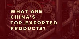 What does China export? - iContainers