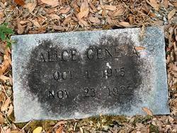 Alice Geneva Hickman (1915-1927) - Find A Grave Memorial