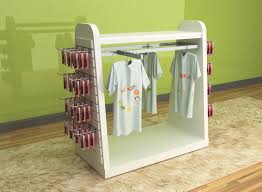 Baby Clothes Display Stand Printed Children'S Clothing Display Racks Baby Clothes Display Stand 20