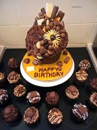 Ultimate Chocolate Giant Cupcake Cakecentralcom