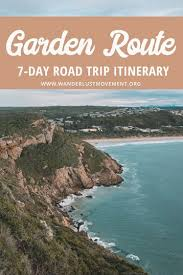 an epic one week garden route itinerary