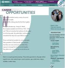 how career websites have evolved ere merck career site