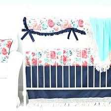 quilts navy crib quilt navy crib quilt garden c navy fringe crib bedding set with