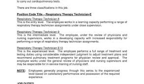 Respiratory Therapist Resume Templates And Cover Letter Respiratory