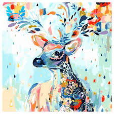Select from 35472 printable crafts of cartoons, nature, animals, bible and many more. Diy Oil Painting Paint By Number Kit Image Drawing On Canvas By Hand Coloring Arts Crafts Sewing Shopee Indonesia