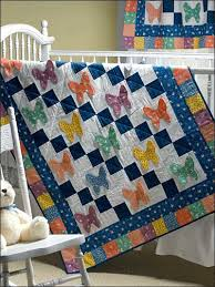 Free Sewing Pattern of the Day Butterflies Crib Quilt | Butterfly ... & Free quilting sewing pattern Butterflies Are Free Crib Quilt Adamdwight.com
