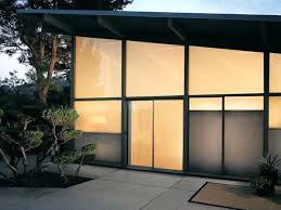 sliding glass door tint honeycomb shades on a sliding glass door outside view for at