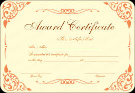 Free Award Certificate Templates For Students Open Award Certificate Template Get Certificate Templates