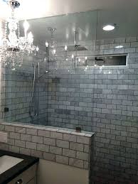 half wall shower enclosure glass doors specialized enclosures shower pony wall tile half like the not enclosure panels