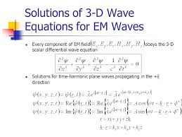 wave motion em waves iv ppt maxwell s equations and electromagnetic waves