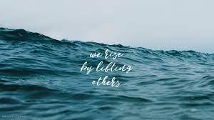 Aesthetic Ocean Quote Wallpaper ...