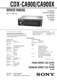wiring diagram for sony cdx ca900x wiring diagrams and schematics sony cdx gt710 fm am pact disc player manual