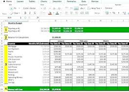 Budget Worksheets Excel Excel Spreadsheet Budget Sample Budget ...