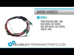 1917 naa10301 new ford new holland tractor 12 v wiring harness Telecaster Wiring Harness at 12 Volt Wiring Harness Kit