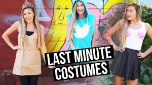 diy last minute costumes twitter mean girls paper bag princess laurdiy