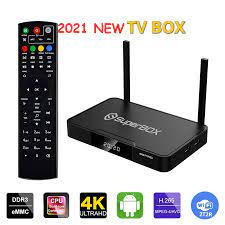 Genuine]Superbox S2 Pro us Android 2+16GB 6k TV box american and canadian  latin Mexico america latina updated from s1 pro|Set-top Boxes