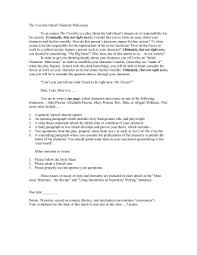 mini essay assignment the crucible initial character mini essay to an extent the crucible