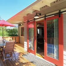 outside patio door. Outside Patio With Sliding Barn Doors Door