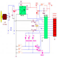 single phase ac motor speed controller engineersgarage circuit diagram 2