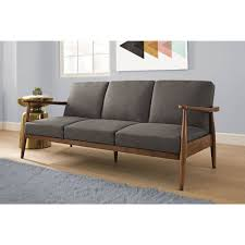 futon sofa 9ddf better homes and gardens flynn mid century futon multiple colors