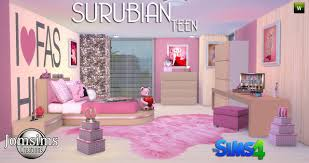 best teen furniture. sims 4 ccu0027s the best teen bedroom set by jomsims furniture