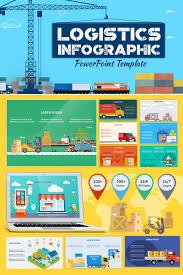 Design For Logistics Ppt Logistics Infographic Set Powerpoint Template 71324