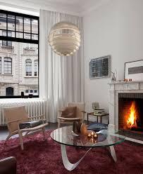 Living Room Artwork Art Nouveau Style Interior Design Ideas