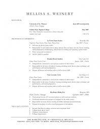 sample of short write up music teacher my resume example write up a resume