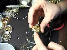 how to make a real working miniature chandelier light for dollhouse easy garden of imagination com