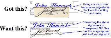 how to create online signature transparent signature get your own transparent signature
