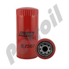 Case Of 12 B7367 Baldwin Hd Lube Spin On