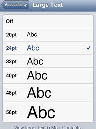 change text size how to change the font size on your ipod iphone snapguide