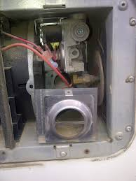 motorhome magazine open roads forum tech issues come in furnace thanks chris so if the propane valve comes out the burner will i not need to disconnect the propane line on the right side going through the rv wall
