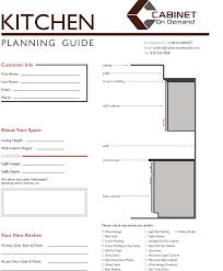 kitchen design planning guide