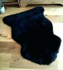 s small sheepskin rug for chair