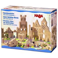 if play is a child s work then wooden building blocks are her tools this set of high quality classic building blocks are made in germany and are designed