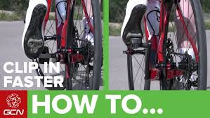 how to clip in your cycling shoes like a pro